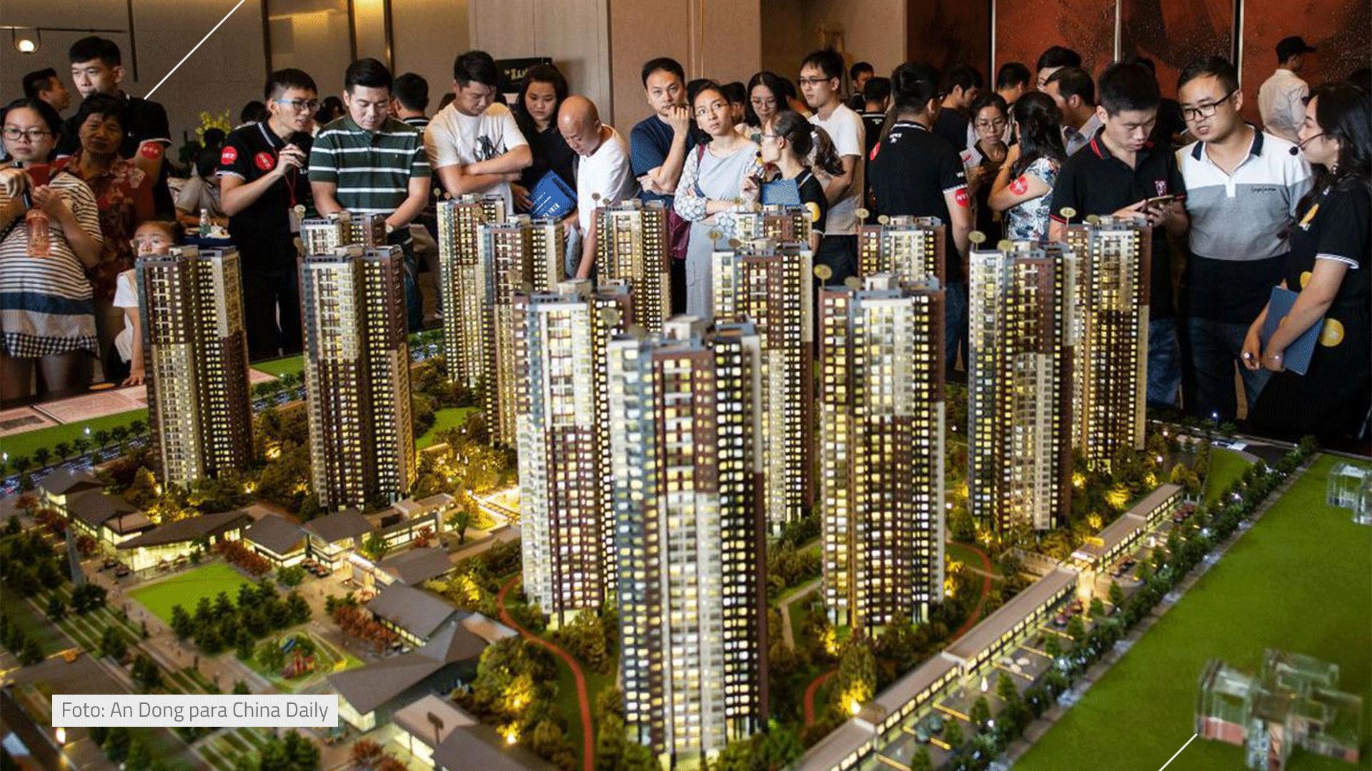 O que está acontecendo no setor imobiliário da China?