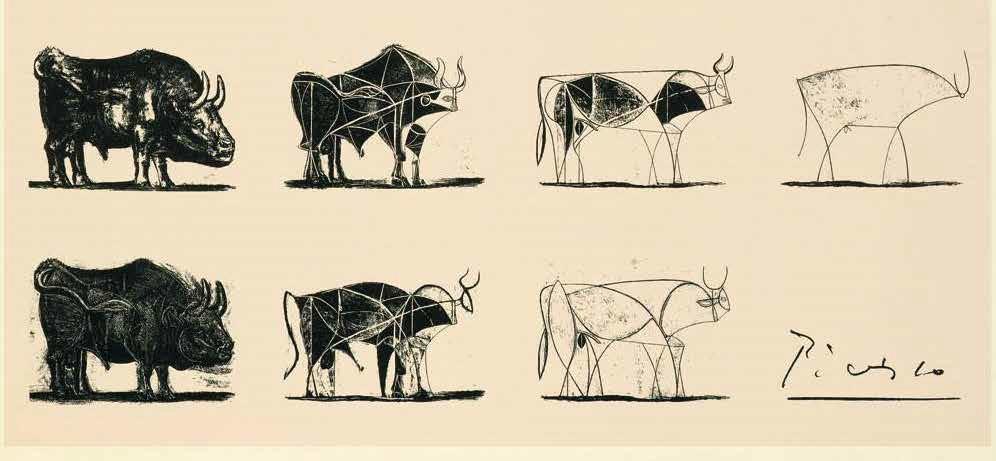 """""""El toro"""", Picasso"""